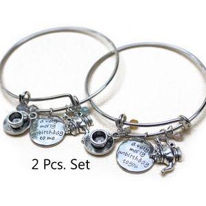 Jewelry - A Very Merry Unbirthday To Me Charm Bracelet